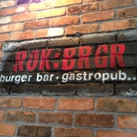 Photo taken at ROK:BRGR by Brad D. on 11/23/2012