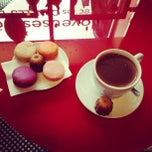 Photo taken at Baillardran Café by Anastasia K. on 5/1/2013