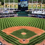 Photo taken at Kauffman Stadium by Greg B. on 5/25/2013