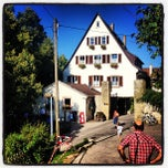 Photo taken at Schwärzlocher Hof by Michael B. on 8/17/2013