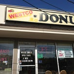 Photo taken at Westco Donuts by Charlie W. on 6/29/2013