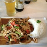 Photo taken at Chai Thai Restaurant by Asia G. on 7/16/2013