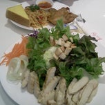 Photo taken at family Steak @ Tesco Lotus Extra Bangna by nang on 6/23/2013