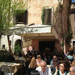 Photo taken at Osteria Zi' mberto by Luca P. on 4/21/2013