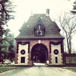 Photo taken at Biltmore Estate Main Gate by Amy J. on 11/23/2012