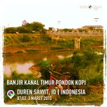 Photo taken at Banjir Kanal Timur (BKT) by didimauel b. on 3/3/2013