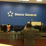 Photo taken at Banco General by Beto H. on 12/21/2012