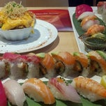 Photo taken at Sushi Sasa by Diane R. on 6/11/2013
