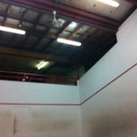 Photo taken at Heroes Hill Squash Court by David P. on 1/7/2013
