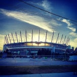 Photo taken at BC Place by Barber B. on 8/31/2013