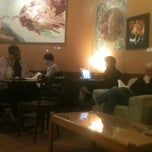 Photo taken at Michelangelo's Coffee House by Mike W. on 3/10/2013