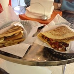 Photo taken at It's Just Crepes by Janet C. on 11/29/2012