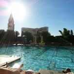 Photo taken at The Venetian Pool by Anthony K. on 10/18/2012