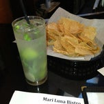 Photo taken at Mari Luna Bistro by Damon B. on 7/30/2013