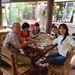 Photo taken at Vườn Âm Thực Trần Quy Cáp by 5 B. on 10/22/2014