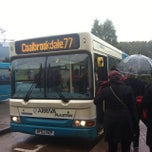 Photo taken at Telford Bus Depot by Paul W. on 11/8/2013
