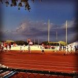 Photo taken at Bob Shelton Stadium by Abel C. R. on 10/11/2014