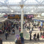 Photo taken at Edinburgh Waverley Railway Station (EDB) by Ed W. on 3/1/2013