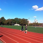 Photo taken at McCarren Park Track by Travis L. on 11/4/2012