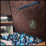 Photo taken at World Health Organization - Main Building by Karoline L. on 5/29/2013