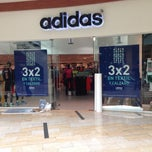 Photo taken at Adidas outlet store by Negro H. on 1/4/2014