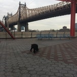 Photo taken at 63rd St Dog Park by Eric F. on 11/30/2014