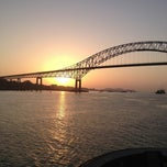 Photo taken at Puente de las Américas by Capt M. on 1/7/2013