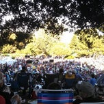 Photo taken at Summer Concerts in the Park by Rinee K. on 8/26/2013