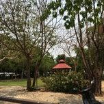 Photo taken at โรงเรียนเบญจมเทพอุทิศจังหวัดเพชรบุรี (Benchamatheputit Phetchaburi School) by chotiwan s. on 3/19/2015