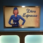 Photo taken at Diva Espresso by Stephanie J. on 12/1/2012