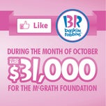 Photo taken at Baskin Robbins by McGrath Foundation on 9/17/2012