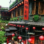 Photo taken at 九份老街 Jiufen Old Street by Kumiko on 9/29/2012