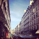 Photo taken at Rue du Pont Louis-Philippe by Brenda F. on 10/31/2014