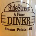 Photo taken at SideStreet Diner by Joe C. on 3/11/2013