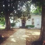 Photo taken at Slavehaven Underground Railroad Museum by Jalisa F. on 8/7/2013