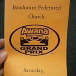 Photo taken at Bondurant Federated Church by Robin G. on 11/17/2012