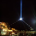 Photo taken at Luxor Hotel & Casino by tori r. on 3/15/2013