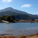 Photo taken at Corte Madera Creek by Howard C. on 1/26/2014