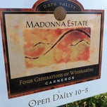 Photo taken at Madonna Estate Winery by Lina on 9/24/2012