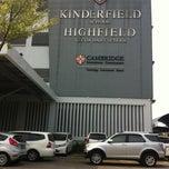 Photo taken at Kinderfield Highfield School Duren Sawit by Ledhie on 8/25/2014