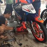 Photo taken at Sepang International Go Kart Track by Nyna R. on 5/17/2015