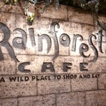 Photo taken at Rainforest Cafe by Robby S. on 4/22/2013