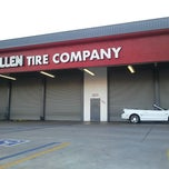 Photo taken at Allen Tire Company by Ryan M. on 11/12/2012