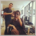 Photo taken at Rik Rak Salon, Boutique & Bar by Kelly S. on 2/16/2013