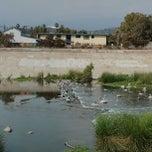 Photo taken at Los Angeles River - Glendale Narrows by Kim C. on 6/23/2013