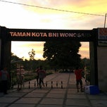 Photo taken at Taman Kota Wonosari by Nurudin J. on 3/1/2014