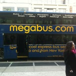 Photo taken at Megabus Bus Stop (New York, NY Drop-Off) by Jay M. on 1/20/2013