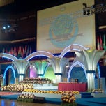 Photo taken at Dewan Merdeka PWTC by Ruziha O. on 7/6/2013