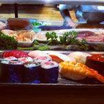 Photo taken at Sushi Tomi by ebtokyo on 4/19/2012