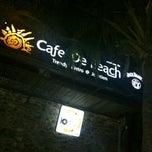 Photo taken at Cafe' De Beach (คาเฟ่ เดอ บีช) by MYday creation on 4/11/2013